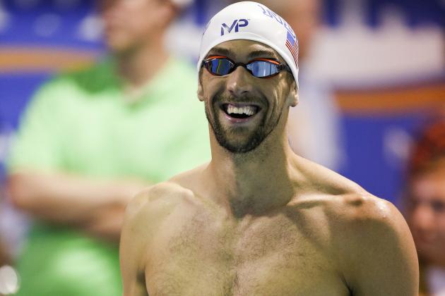 Michael Phelps High Resolution