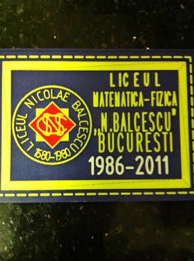 Matricola Liceului Nicolae Balcescu anii 1982-1986