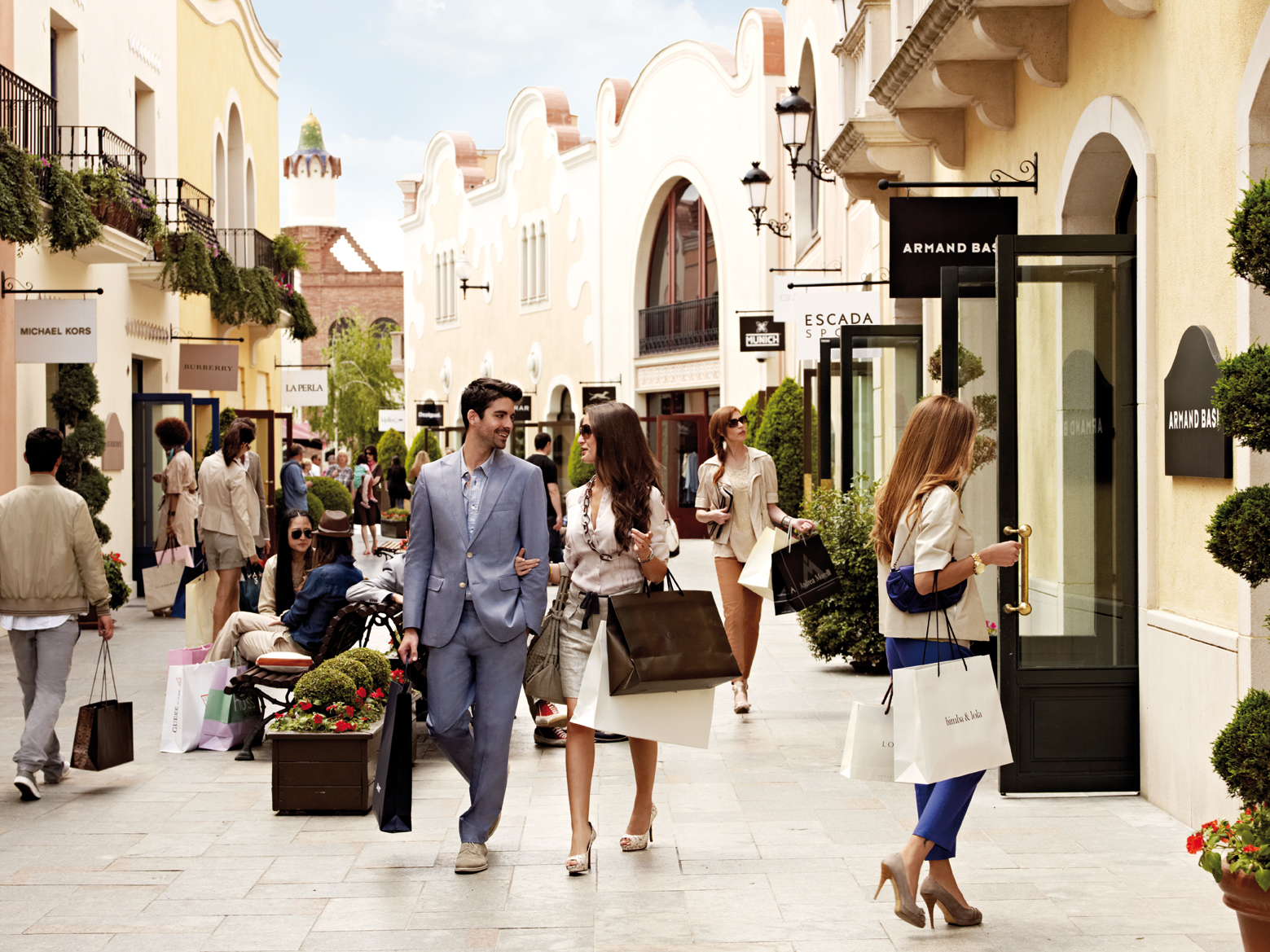 Image result for luxury shopping