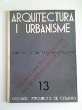 Arquitectura i Urbanisme 1936