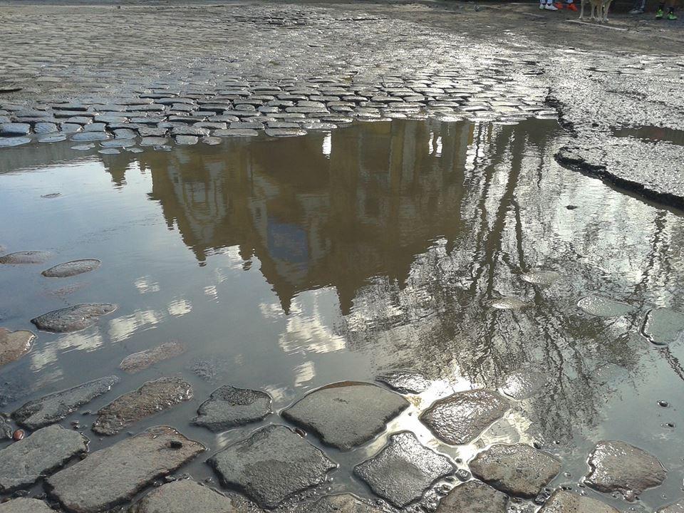El Puente...los adoquines...la lluvia...Pompeya...