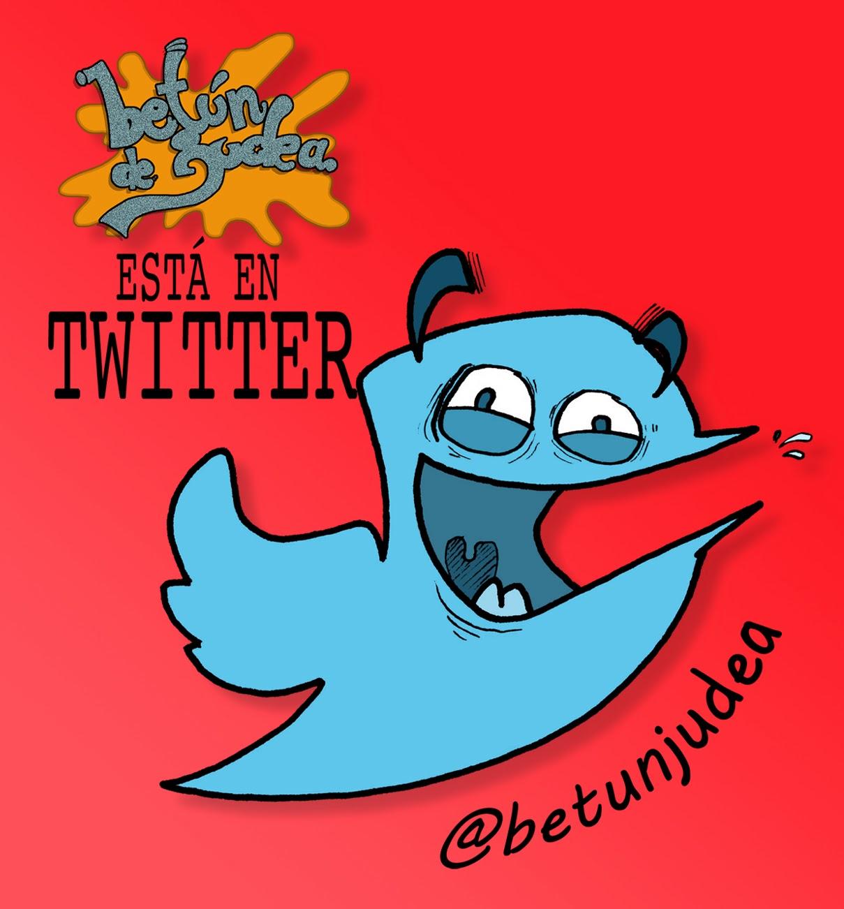 Betún de Judea está en Twitter