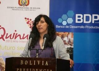 Créditos productovios en Bolivia