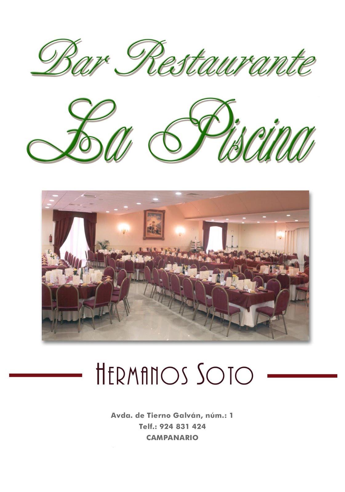 Restaurante La Piscina - Hnos Soto