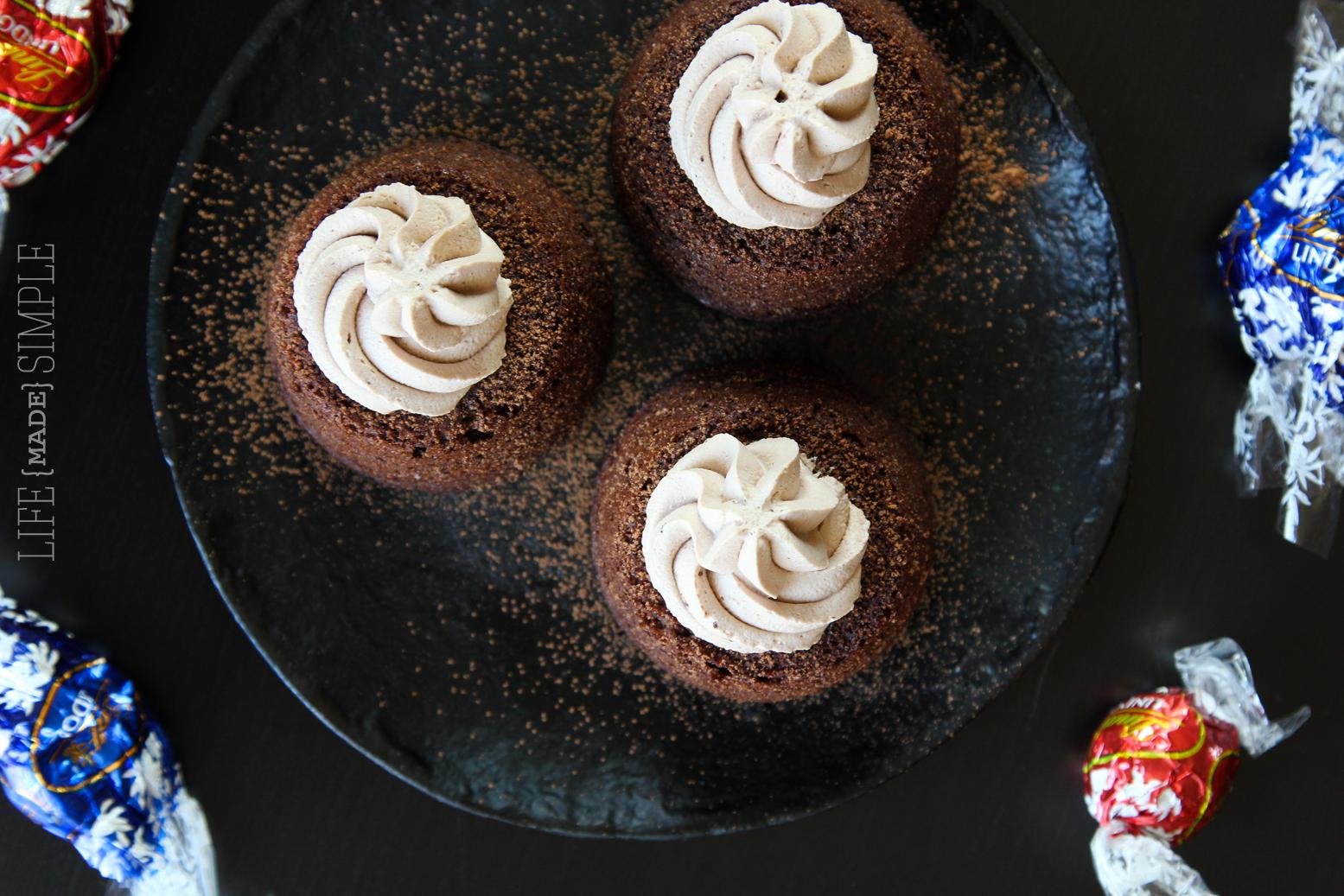 Molten Chocolate Cupcakes Recipe — Dishmaps