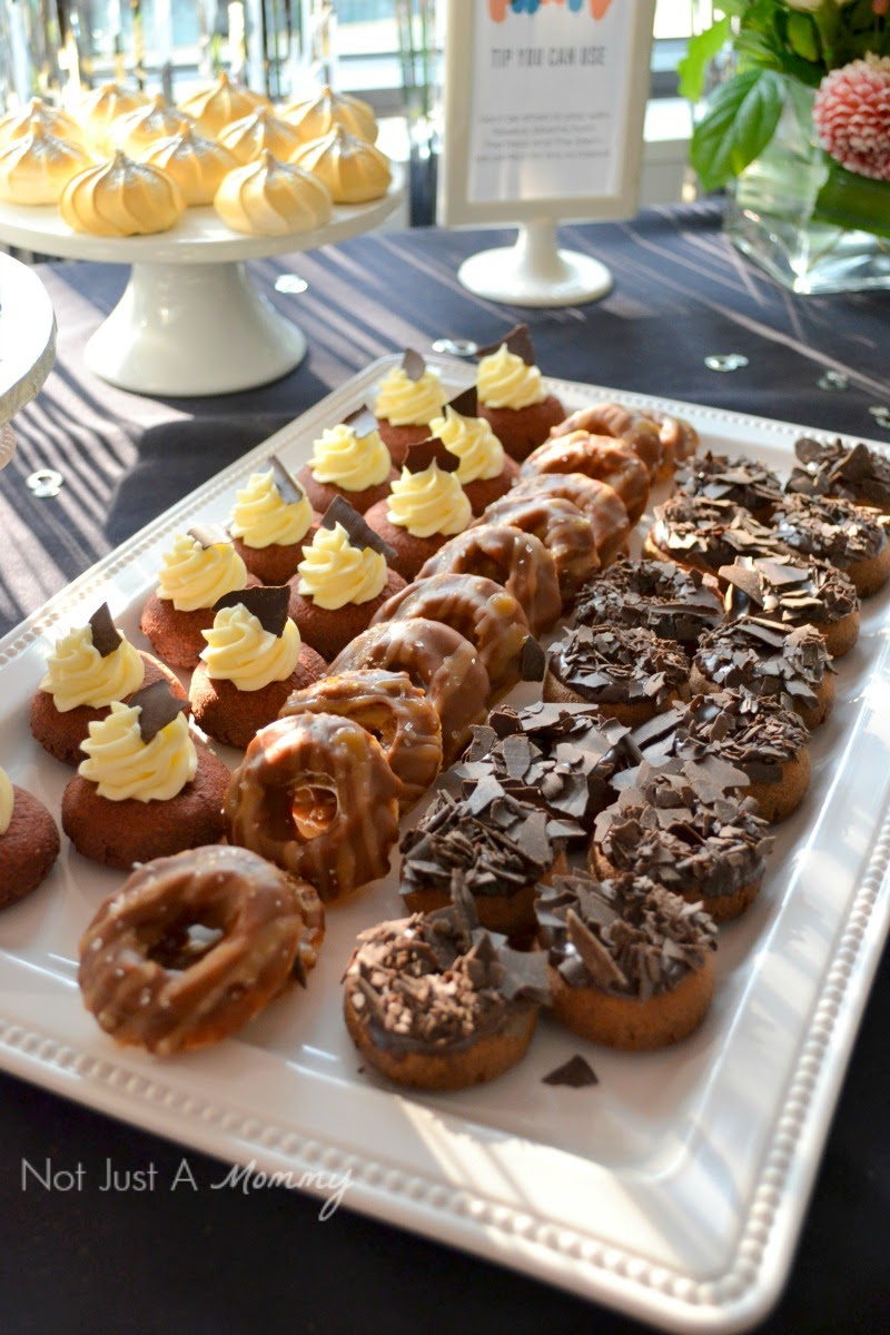Party With A Purpose Fundraiser Event; doughnut tray