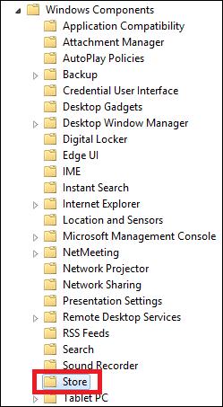 Làm Thế Nào Để Vô Hiệu Hóa Windows Store Trên Windows 8 hay 8.1