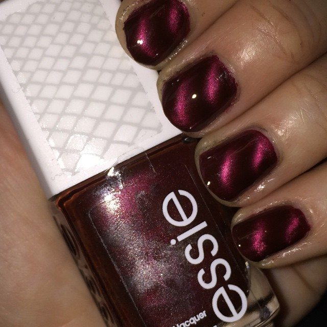 My 2014 in nails, #ManiMonday, Mani Monday, manicure, nails, nail polish, nail lacquer, nail varnish, Essie Sssssexy Magnetic Nail Polish, Nails Inc. Trafalgar Square magnetic nail polish
