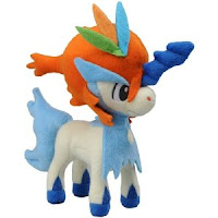 Pokemon plush Reglar Size Keldeo Resolution Forme Tomy