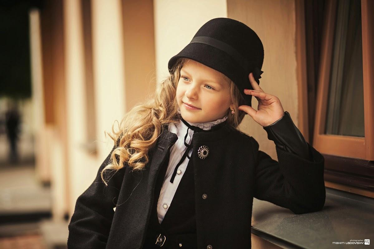 детская ретро фотосессия