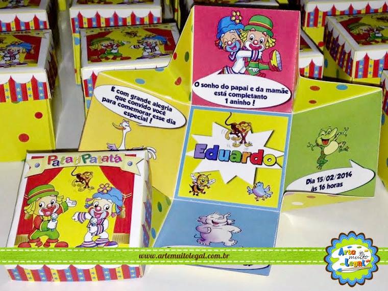 Arte Muito Legal - Convites infantis e Lembrancinhas Especiais