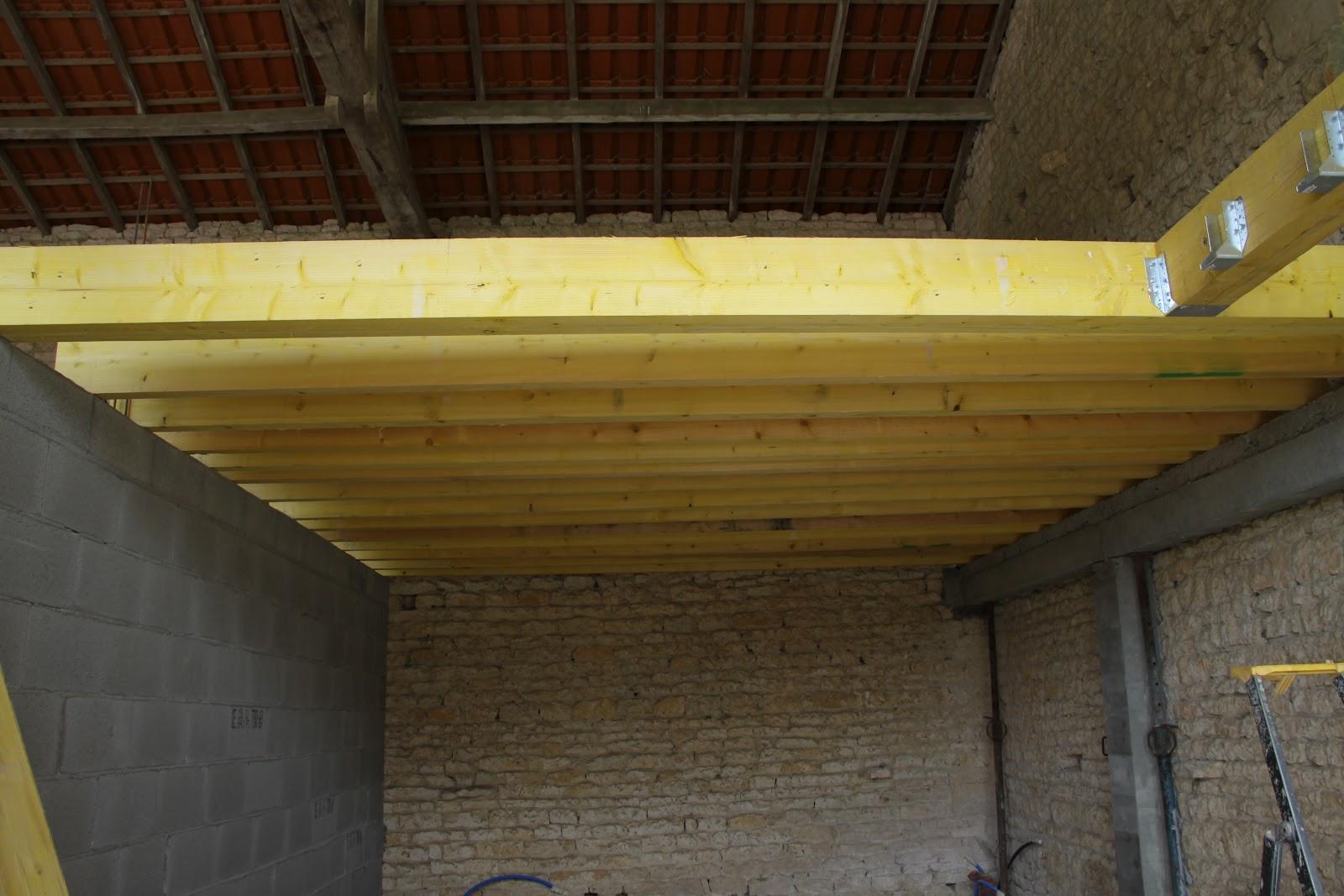 projet maison ossature bois MONTAGE MUR LOCATIF ET PLANCHER 01 JUILLET # Plancher Maison Ossature Bois