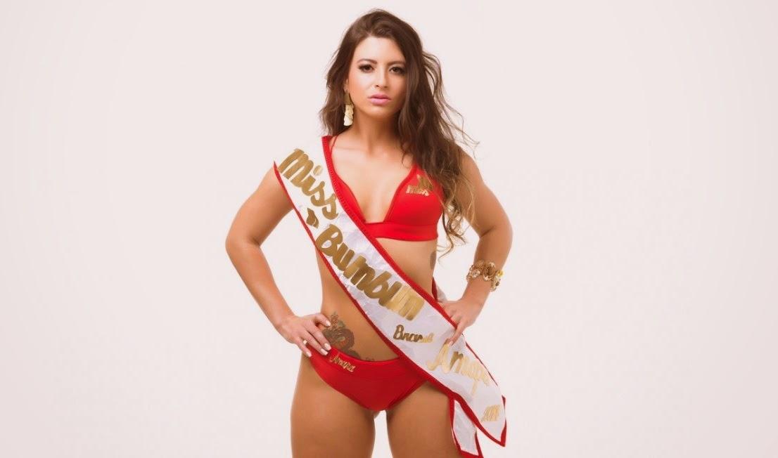 Concurso Miss Bumbum Brasil (2014) - Ana Paula Xavier