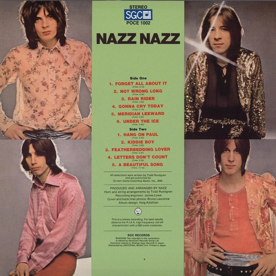Music Archive The Nazz Nazz Nazz 1969