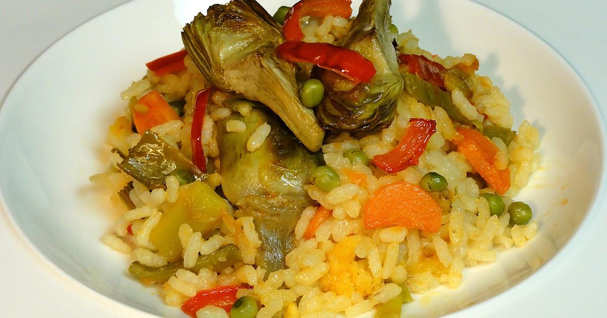 Cocinar para los amigos arroz con verduras for Cocinar 2 tazas de arroz