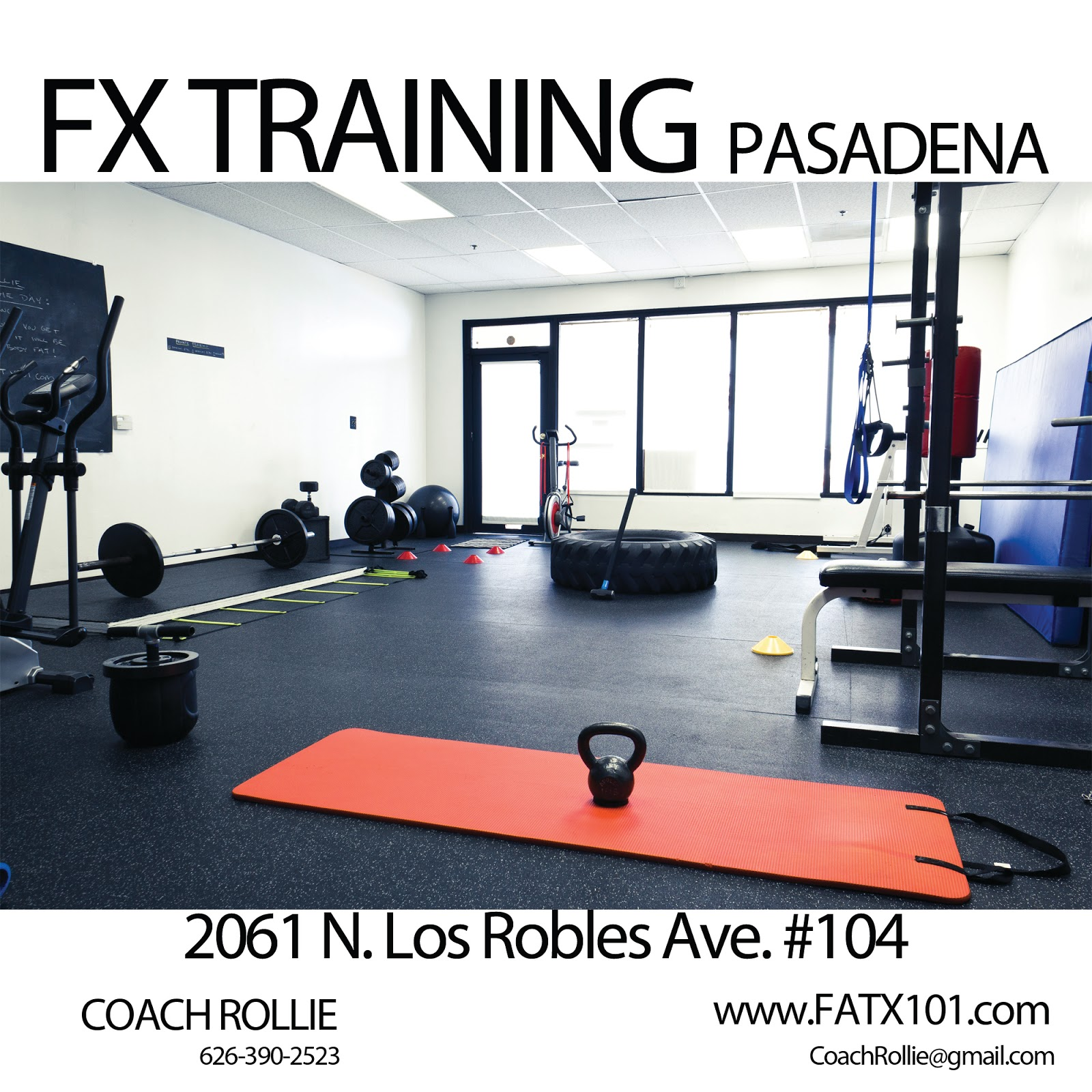 personal training in pasadena