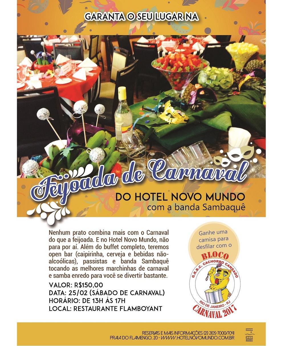 25/02 FEIJOADA DO CARNAVAL (RJ)