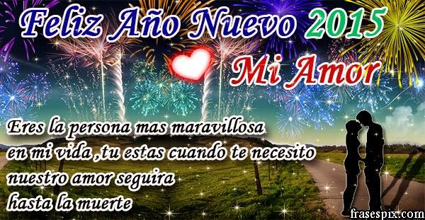 Mi amor feliz año