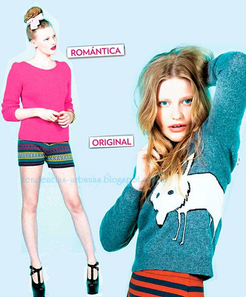 suéter de lana moda invierno 2013