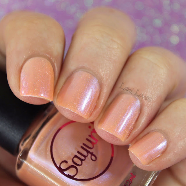 Sayuri Nail Lacquer - Taffy Twist nail polish swatches & review