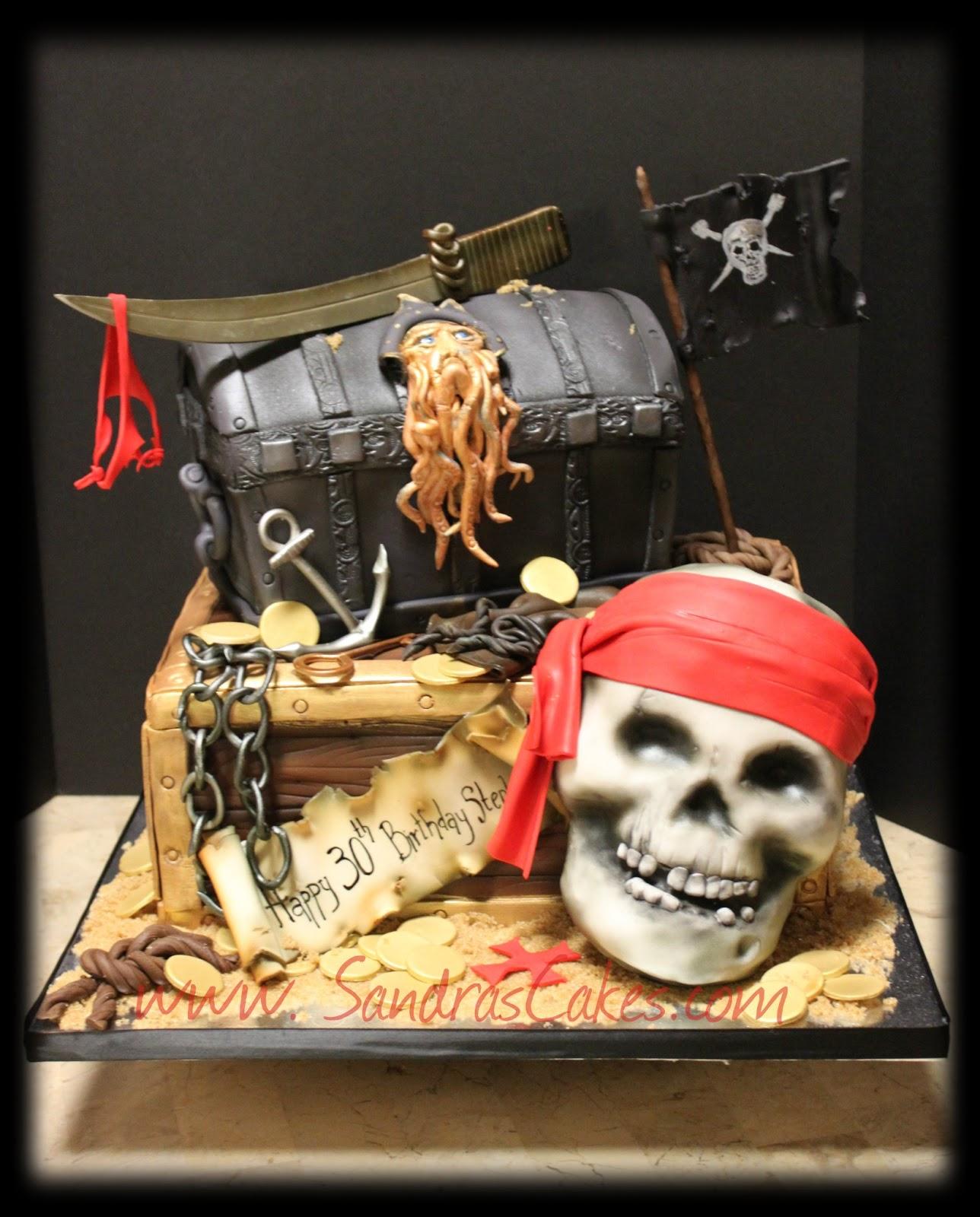 Inspiring Adult Pirates Of The Caribbean Birthday Cake Photos