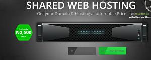 Domain & Web Hosting for #2,500