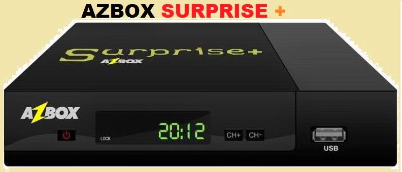 azbox - ATUALIZAÇÃO AZBOX SURPRISE + CABO  21.07.2014 AZBOX+SURPRISE+by+clube+azbox