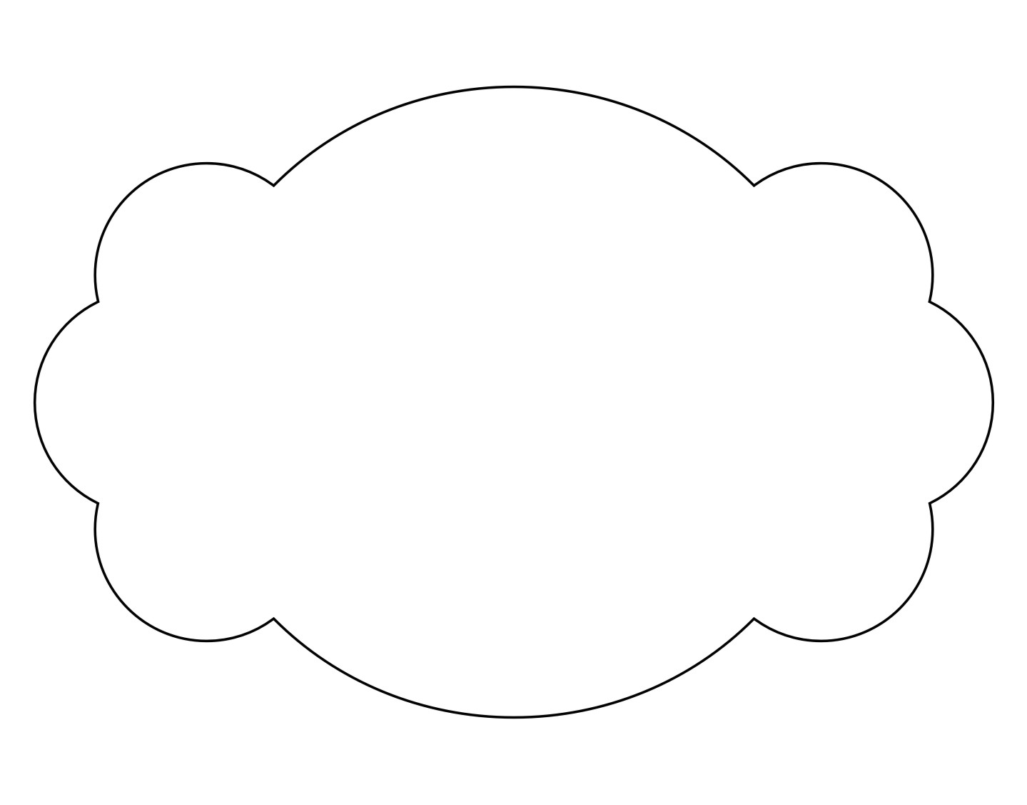 Sweet image intended for printable shape templates