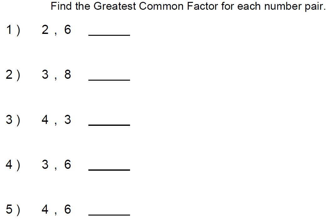 Mr. Howards ESOL Math: 8/16 6th Grade Period 3 & 4
