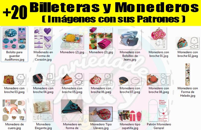 Variedades M&Y: Mega Colección Revistas Patrones Moldes Bolsos Carteras