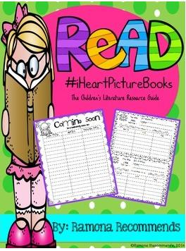 http://www.teacherspayteachers.com/Product/Childrens-Literature-Resource-Guide-GET-ORGANIZED-1215028
