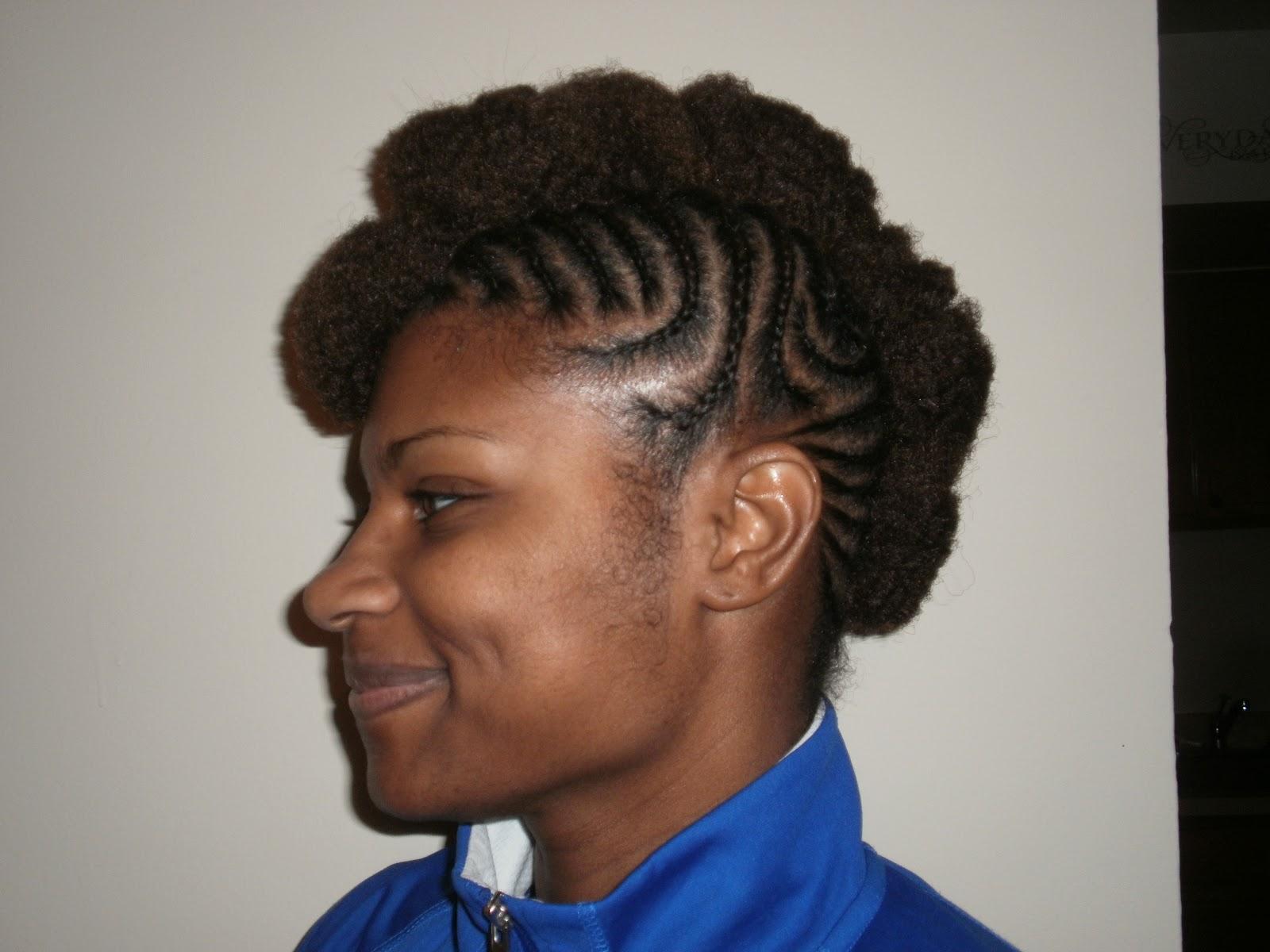 Hair Essentials - MoHawk Braids & Styling