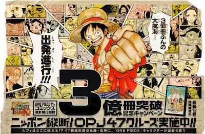 Komik One Piece Menjadi Manga Terlaris 2013 di Jepang