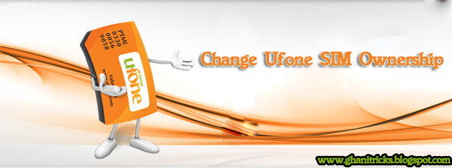Change-Ufone-Sim-Ownership
