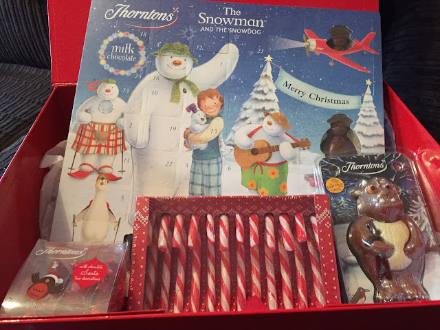 Advent Calendar and treats from Direct Line