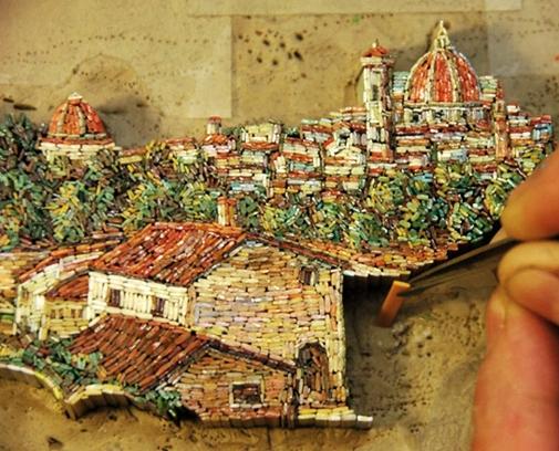 mikro mozaika