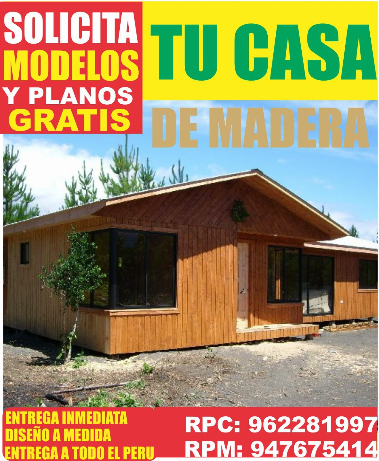 Casas prefabricadas de madera modelos dise o moderno peru - Modelos de casas prefabricadas economicas ...