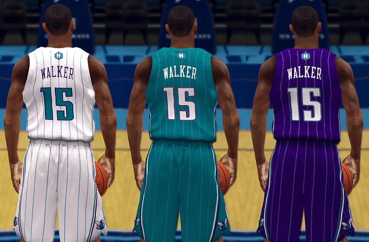 NBA 2K14 Charlotte Hornets Jersey Patch