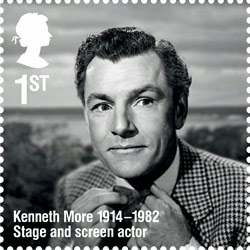 United Kingdom: Royal Mail is celebrating the life of stage and screen actor Kenneth More