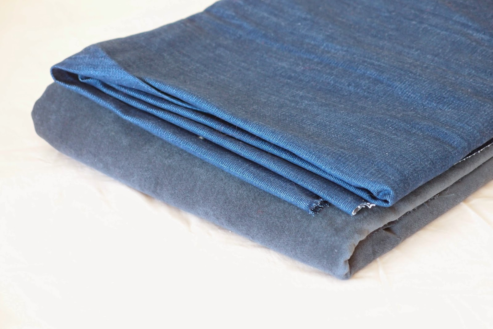 new denim /and alikes - velvet/ additon to my stash