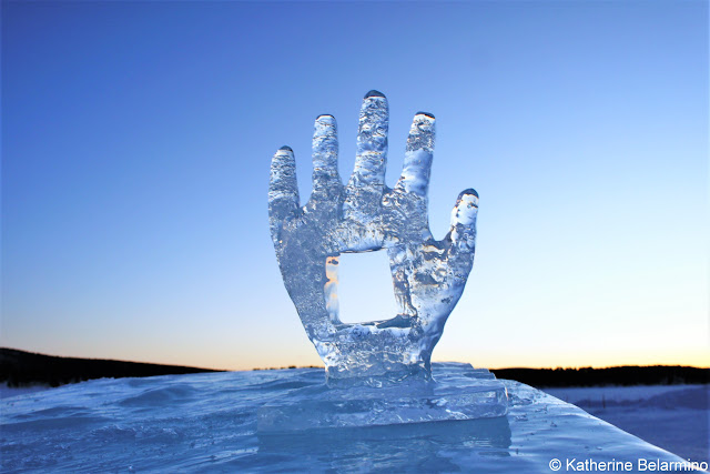 Ice Sculpture at ICEHOTEL Sweden