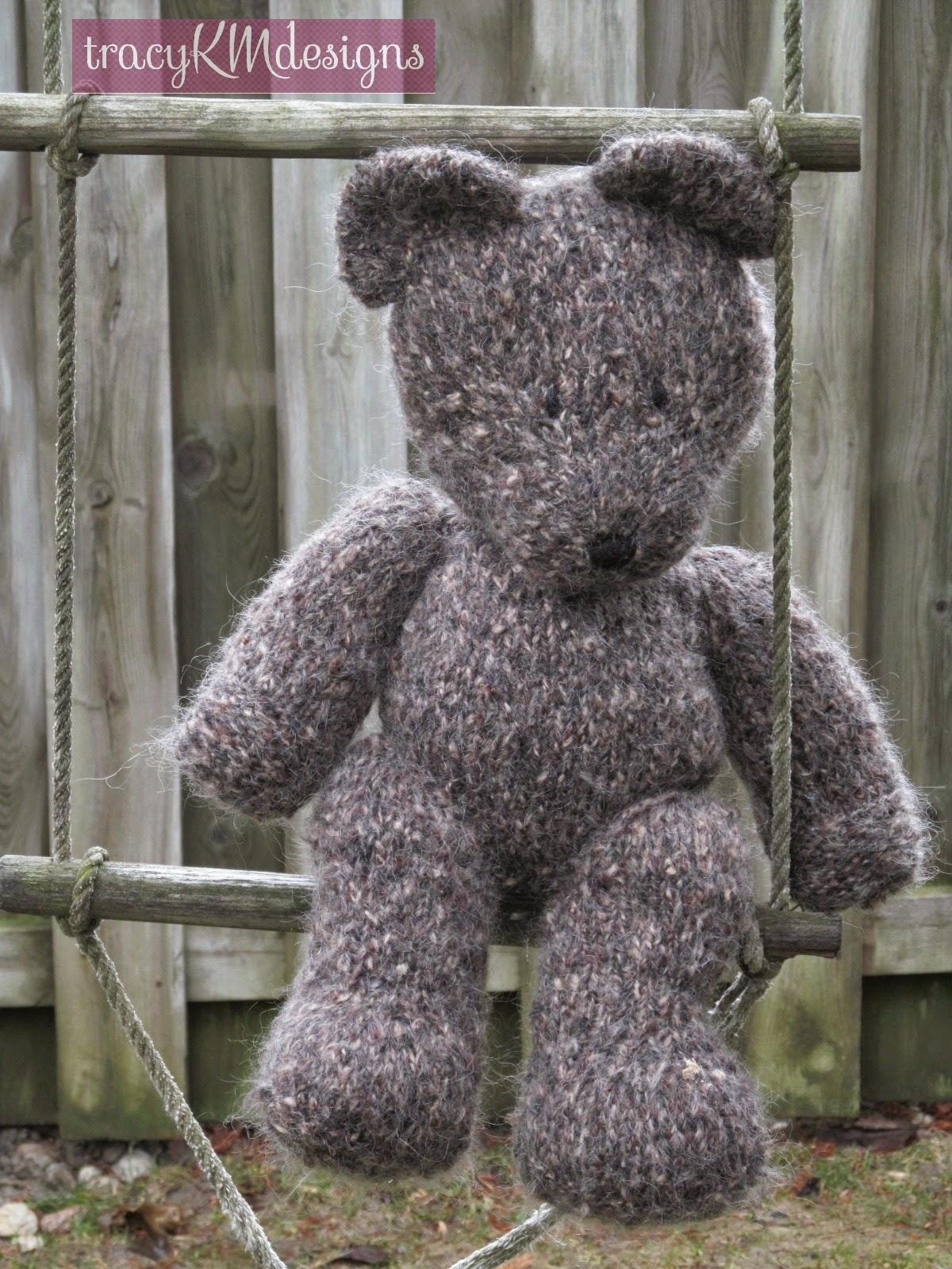 Old fashioned teddy bear crochet pattern 94