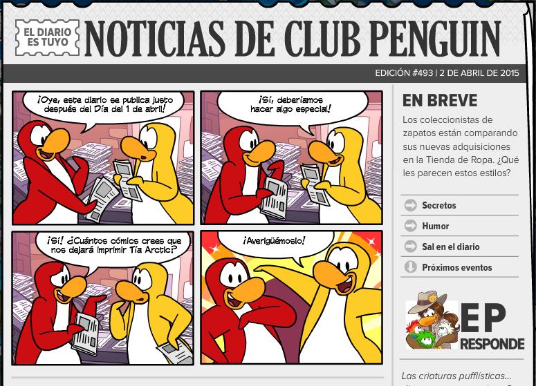 Nuevo diario edici n 494 c mics videojuegos for Pececillo nuevo de cualquier especie
