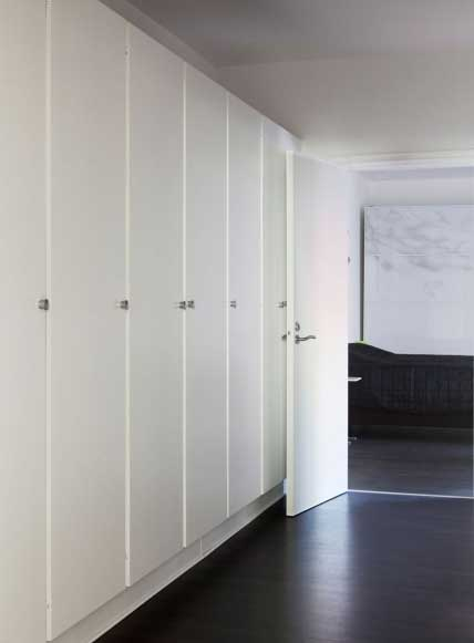 Decora el hogar decoraci n de recibidores y pasillos - Decoracion armarios empotrados ...