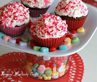 Winelady Cooks: Red Velvet Cupcakes