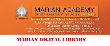 MARIAN ACADEMY OF MANAGEMENT STUDIES