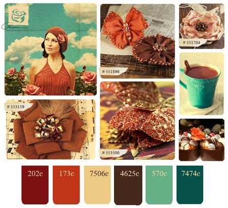 Daze of grace prima fall color palette