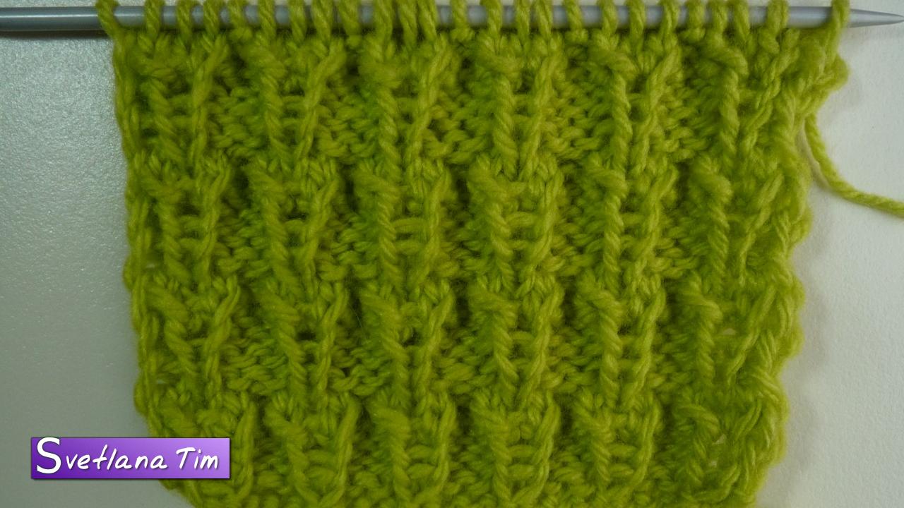 схема вязания спицами ёжик