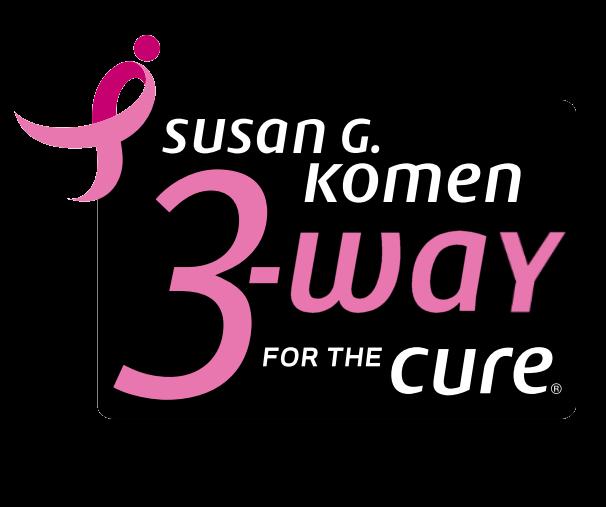 Susan G Komen 3 Way typo