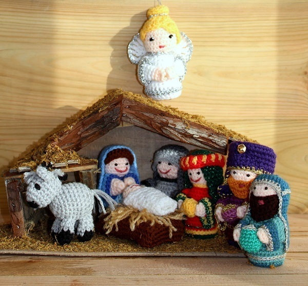 An Oldie But A Goodie My Crochet Nativity Scene Lazy Daisy Jones